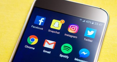 facebook, snapchat and other apps