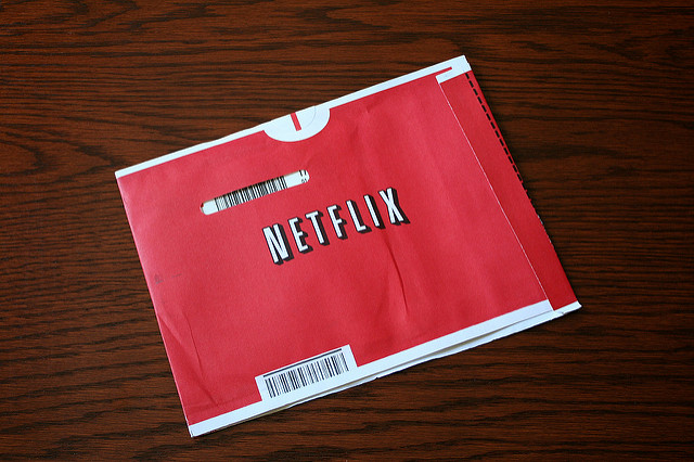 Netflix packaging