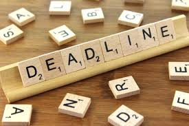 deadline on scrabble