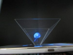 Holographic video
