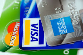 MasterCard, Visa and American Express Cards