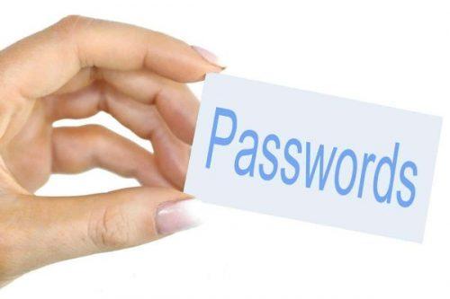 Password sign