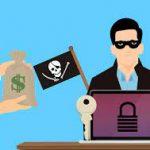 Ransomware Attack Cartoon